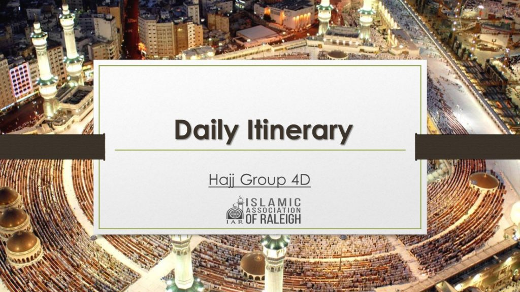 IAR Hajj Services – Serving Our Triangle, NC Community